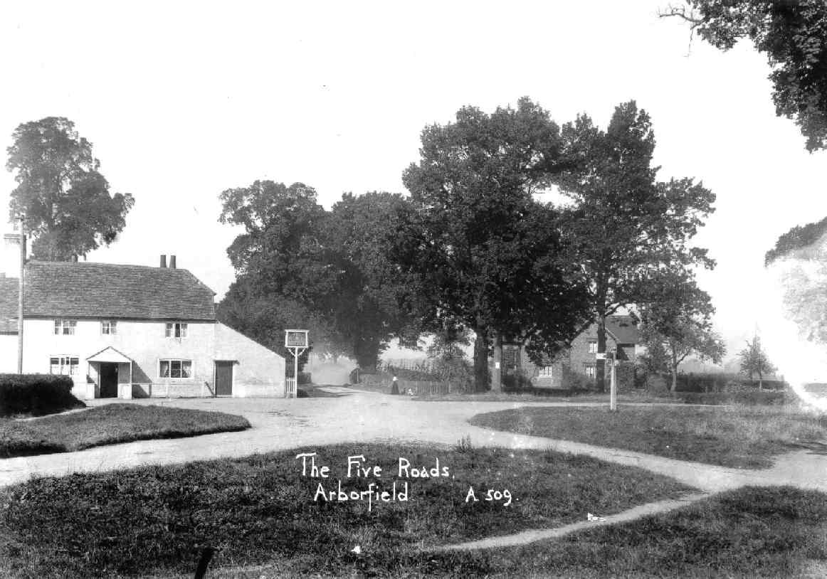 Arborfield Local History Society - Ww1