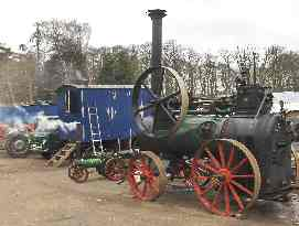 The Stationary Steam Engine 'in steam' on 8th March 2008
