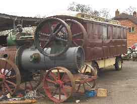 A Stationary Steam Engine under restoration